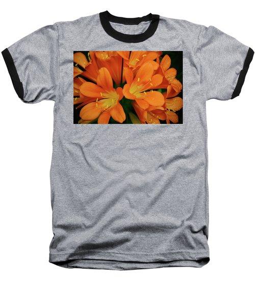 Orange Lilies No. 1-1 Baseball T-Shirt