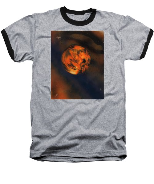 Orange One Baseball T-Shirt