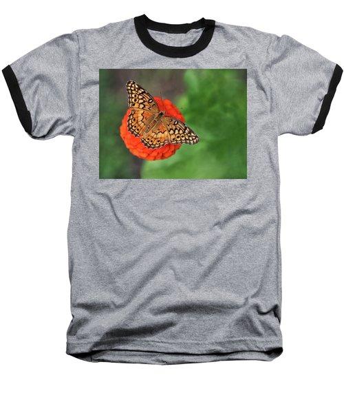 Orange Orange Green Baseball T-Shirt
