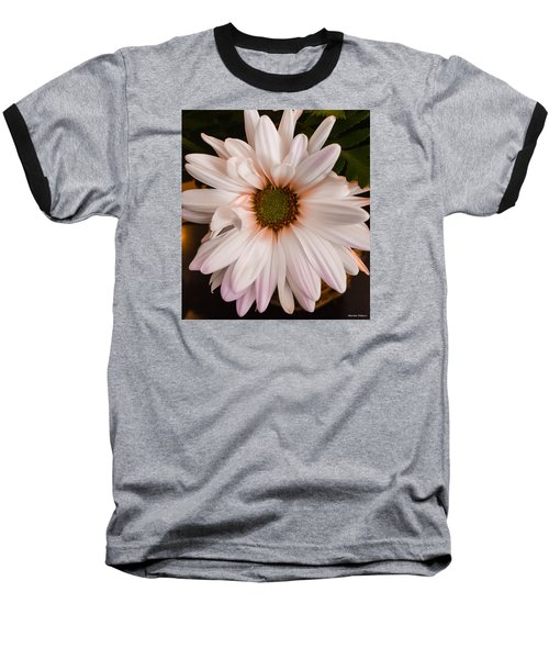 Orange Pastel Daisy Baseball T-Shirt