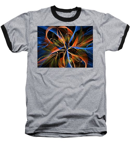 Orange Ribbons Baseball T-Shirt