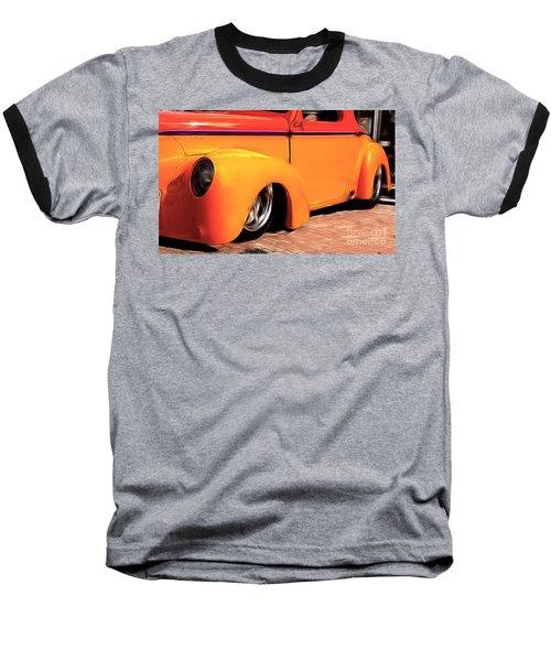 Orange Rush - 1941 Willy's Coupe Baseball T-Shirt
