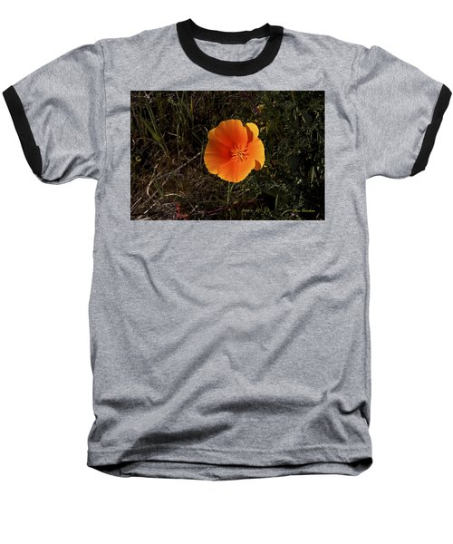 Orange Signed Baseball T-Shirt