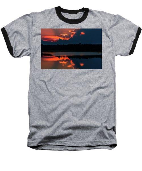 Orange Sky Baseball T-Shirt