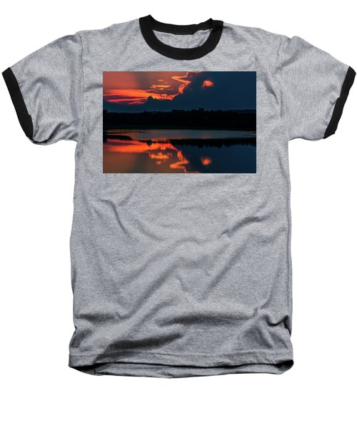 Orange Sky Baseball T-Shirt