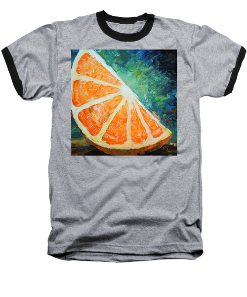 Orange Slice Baseball T-Shirt