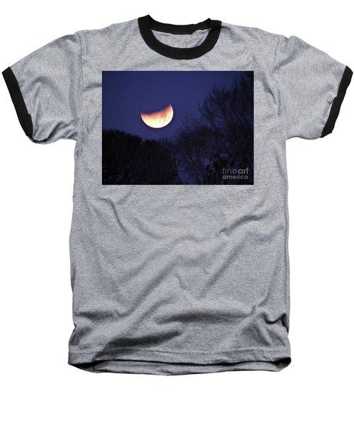 Orange Slice Moon 2018 Baseball T-Shirt