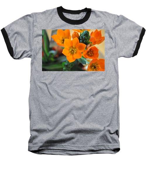 Orange Star Baseball T-Shirt