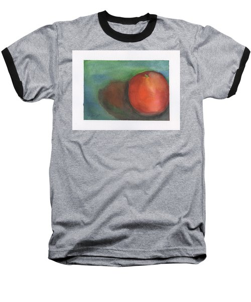 Baseball T-Shirt featuring the painting Orange Still Life by Frank Bright