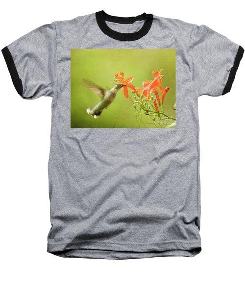Orange Treat Baseball T-Shirt