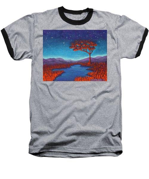 Orange Tree 01 Baseball T-Shirt