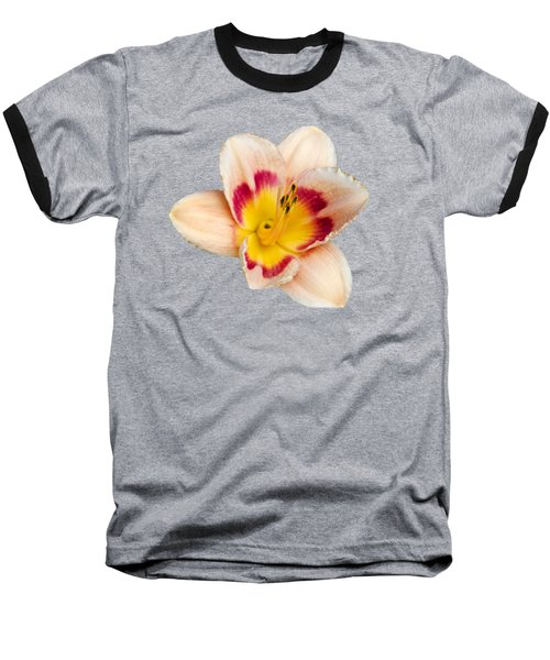Orange Yellow Lilies Baseball T-Shirt by Christina Rollo