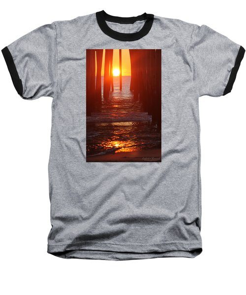 Orb On The Water Baseball T-Shirt