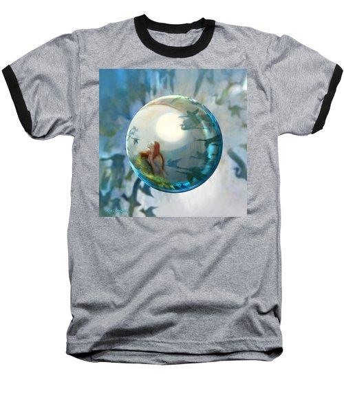 Orbital Flight Baseball T-Shirt