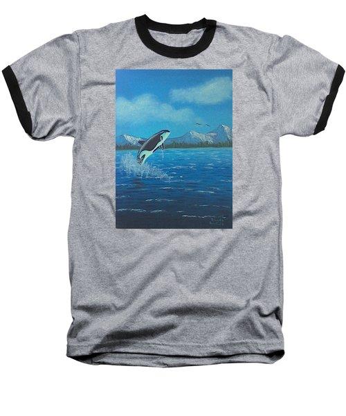 Orca Baseball T-Shirt