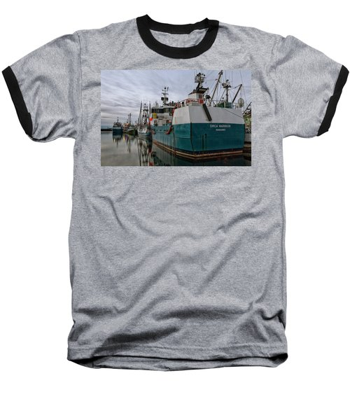 Baseball T-Shirt featuring the photograph Orca Warrior by Randy Hall