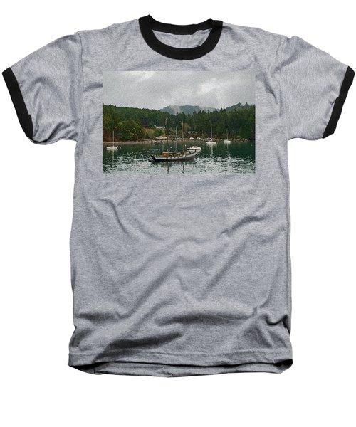 Orcas Island Digital Enhancement Baseball T-Shirt