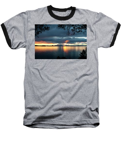 Orcas Island Sunset Baseball T-Shirt