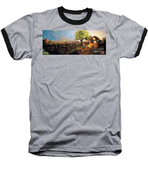 Orchard And Barn Baseball T-Shirt