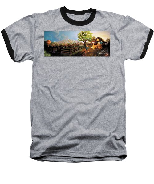 Orchard And Barn Baseball T-Shirt