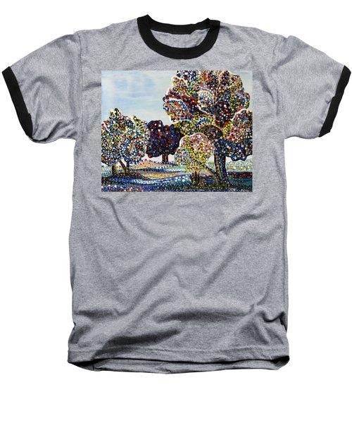 Orchard Baseball T-Shirt by Erika Pochybova
