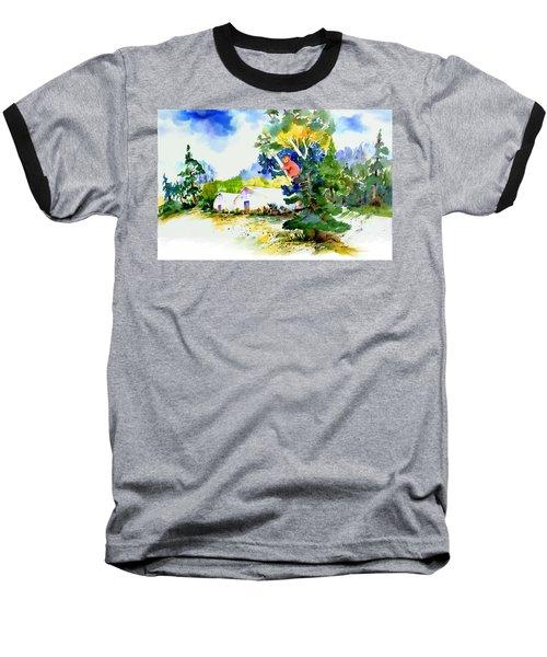 Orchard Springs Bear Baseball T-Shirt