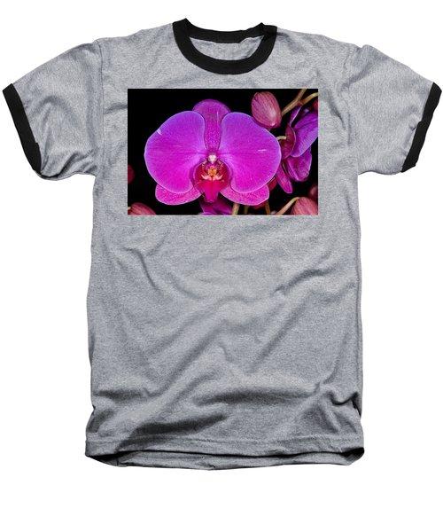 Orchid 424 Baseball T-Shirt