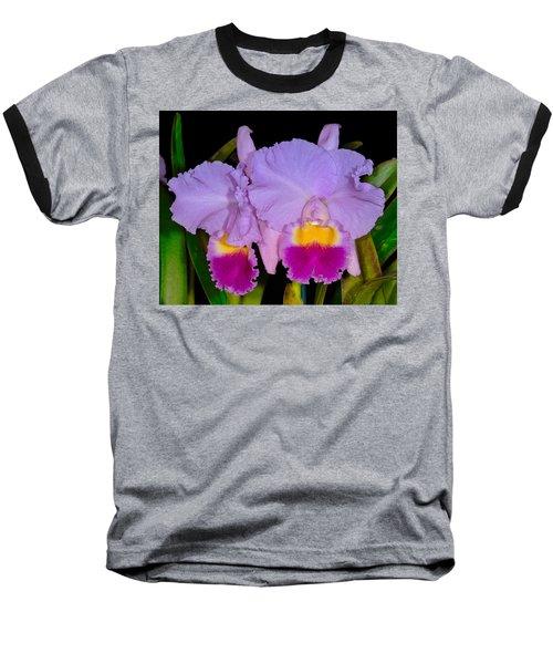 Orchid 428 Baseball T-Shirt