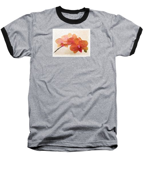 Orchid Beauty Baseball T-Shirt