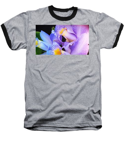 Orchid Bouquet Baseball T-Shirt