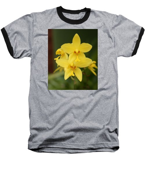 Baseball T-Shirt featuring the photograph Orchid by Christian Zesewitz