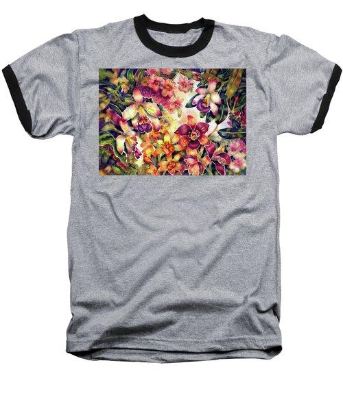 Orchid Garden II Baseball T-Shirt