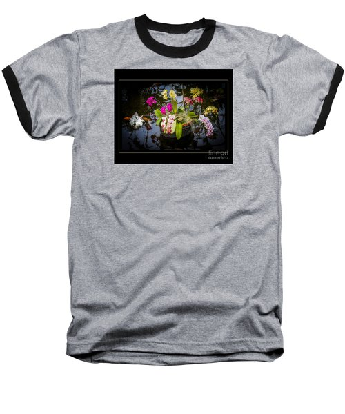 Baseball T-Shirt featuring the photograph Orchid Island by Darleen Stry