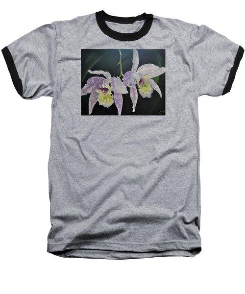 Orchid Jewels Baseball T-Shirt