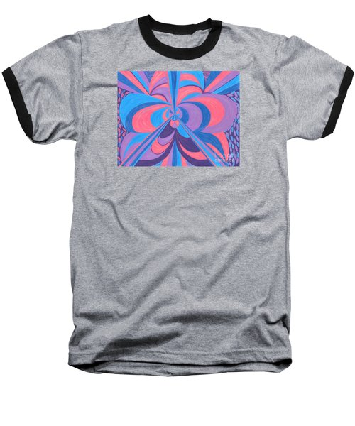 Baseball T-Shirt featuring the drawing Orchid by Kim Sy Ok