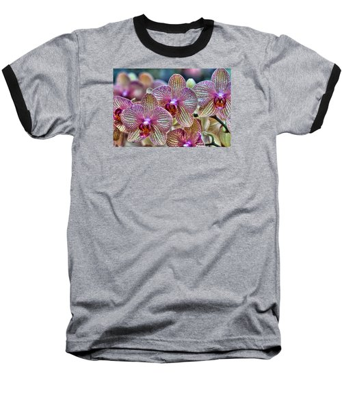 Orchid Melody Baseball T-Shirt