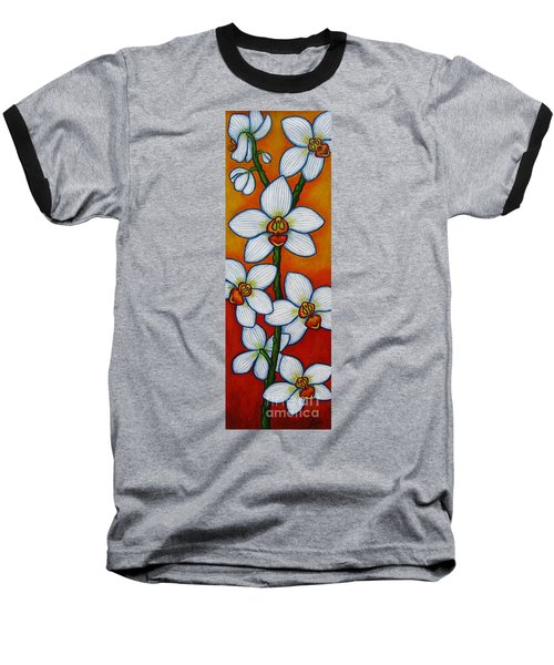 Orchid Oasis Baseball T-Shirt