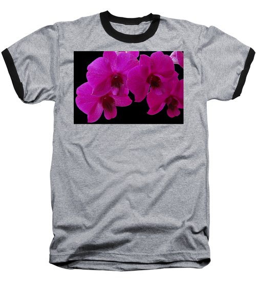 Orchid Song Baseball T-Shirt