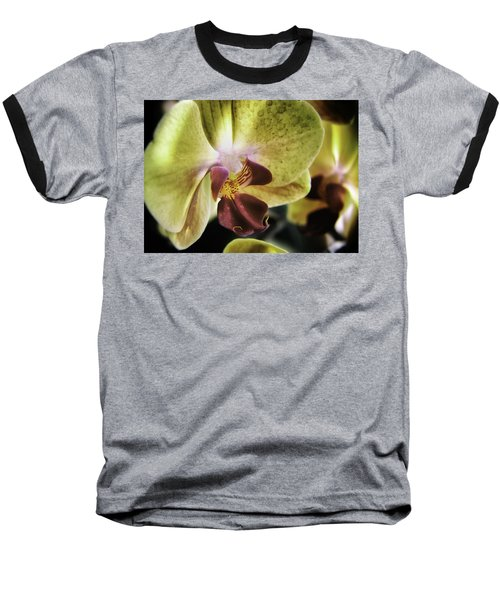 Orchid With A Tongue Baseball T-Shirt