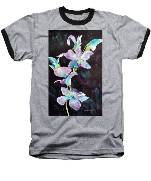 Orchids Alive Baseball T-Shirt