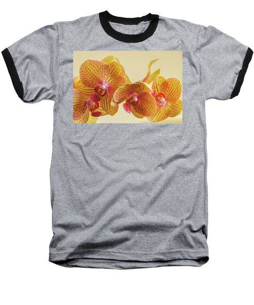 Orchids Baseball T-Shirt