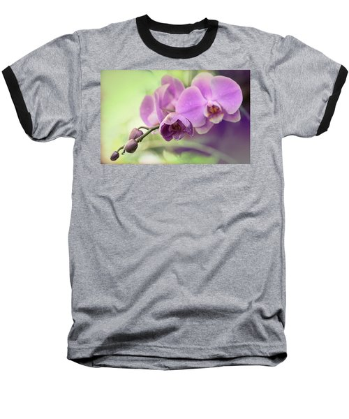 Baseball T-Shirt featuring the photograph Orchids by Cathy Donohoue