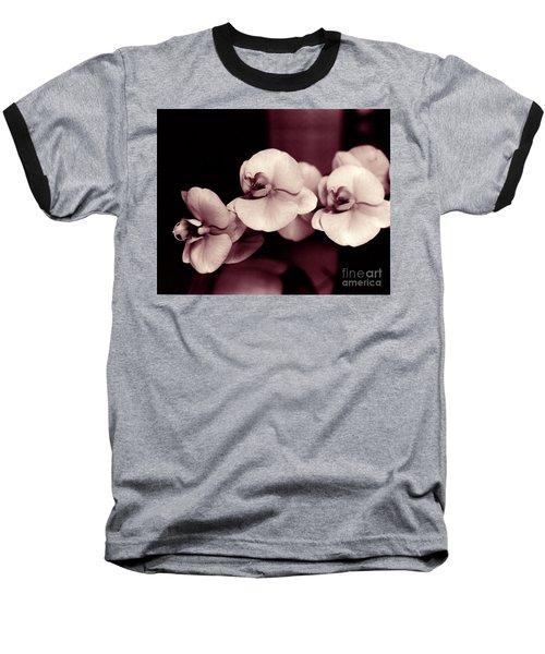 Orchids Hawaii Baseball T-Shirt