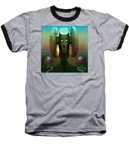 Order And Serenity Baseball T-Shirt by Rosa Cobos