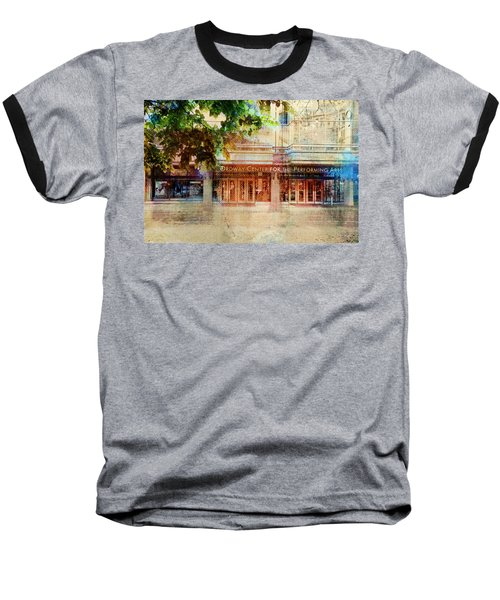 Ordway Center Baseball T-Shirt by Susan Stone