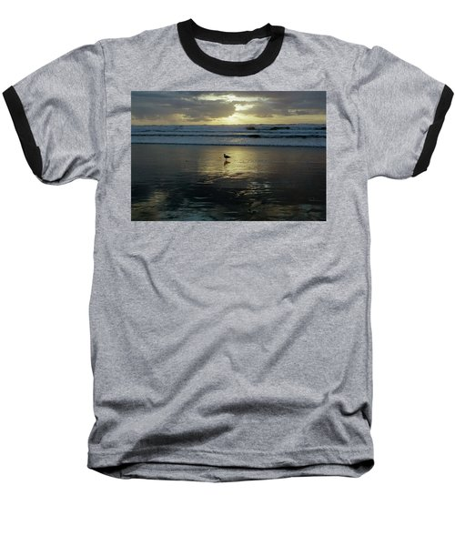 Oregon Coast 3 Baseball T-Shirt