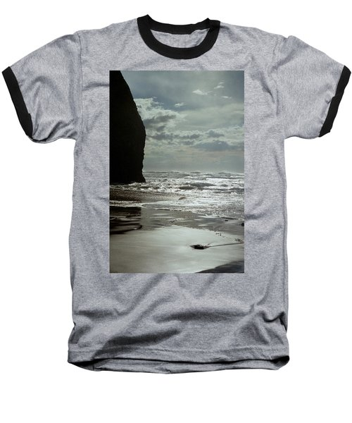 Oregon Coast 5 Baseball T-Shirt