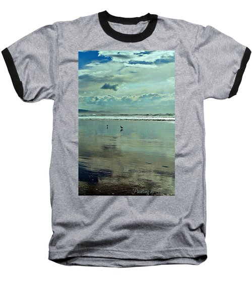Oregon Coast 6 Baseball T-Shirt