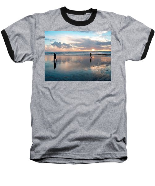Oregon Coast 7 Baseball T-Shirt