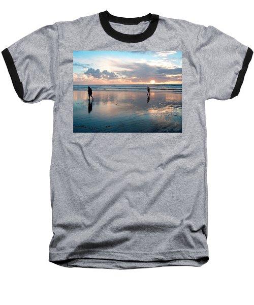 Oregon Coast 7 Baseball T-Shirt
